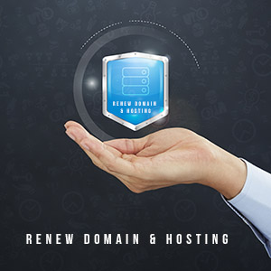 Renew Domain & Hosting